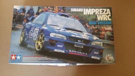 Kit Rally 1/24 Subaru Impreza WRC Arai Version Tamiya