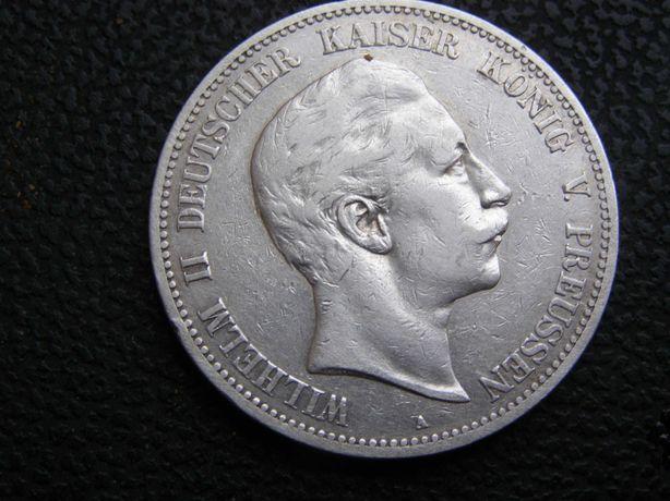 5 марок 1903 А. Пруссия.