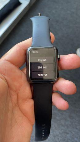 Apple watch 2 caixa aco 42mm