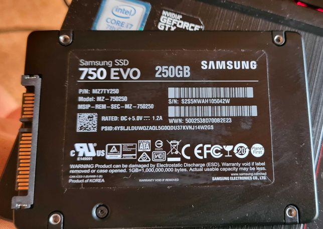 Disco SSD Samsung 750 EVO 250GB SATA III