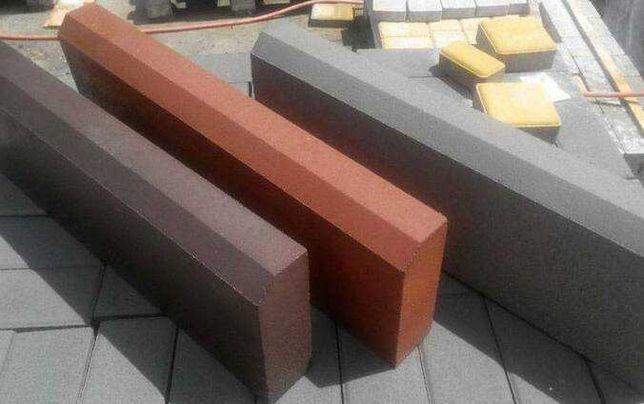 Бордюр садовый, поребрик для тротуарной плитки 60мм