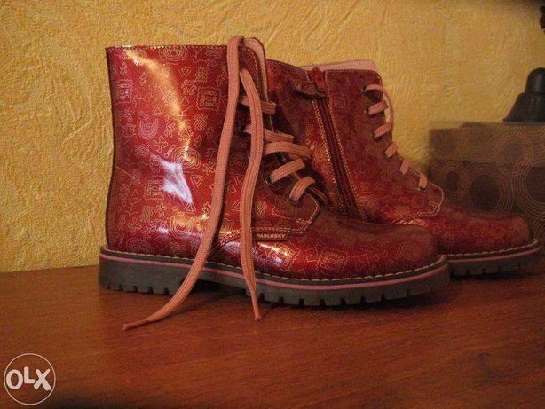 Продам фирменные Испанские ботинки для девочки.Возможен хороший торг.