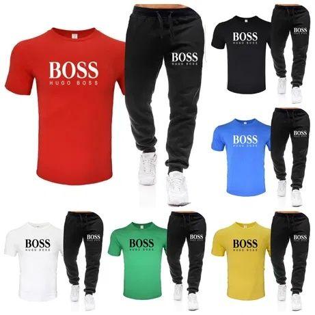 Komplety męskie z logo Boss kolory M-XXL!!!