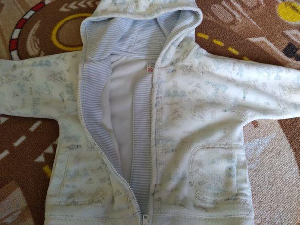 Bluza rozpinana polar Next 68/74