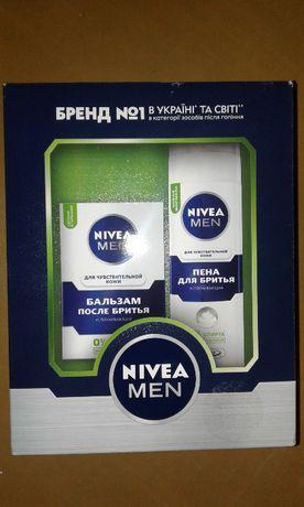 Набір Nivea Men (для чутливої шкіри). Чудовий подарунок на свято!