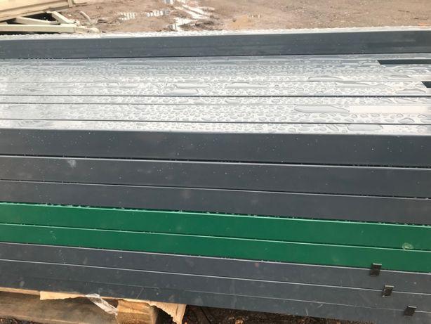 Słupek ogrodzeniowy panelowy 60x40 ocynkowany malowany H-2,3