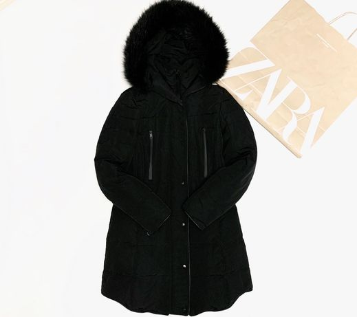 Пуховик парка куртка пальто Zara H&M Mango Xs/S/M Как Новый Оригинал