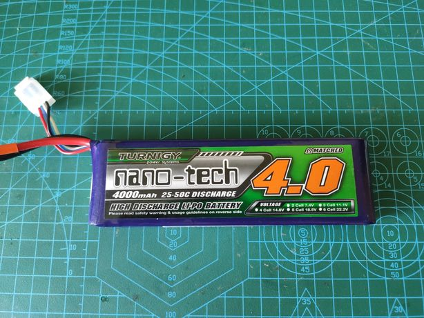 Bateria pakiet Li-po 3s 4000mAh Turnigy