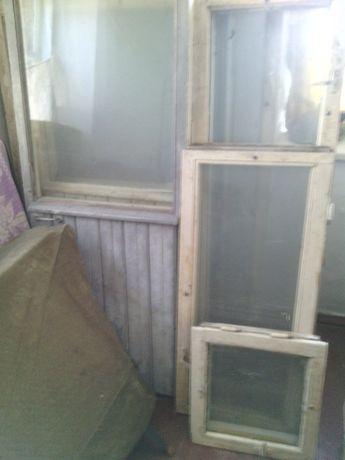 Продам оконный блок и балконную дверь