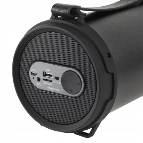 NOWE Radio Boombox USB Głośnik Bluetooth MP3+pasek