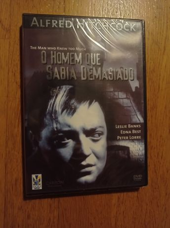 Hitchcock | O Homem Que Sabia Demasiado | Novo e selado