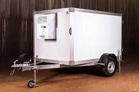 Мобильная холодильная камера. Прицеп-рефрижератор к легковому авто