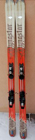 Narty skiturowe skitourowe 184 foki buty