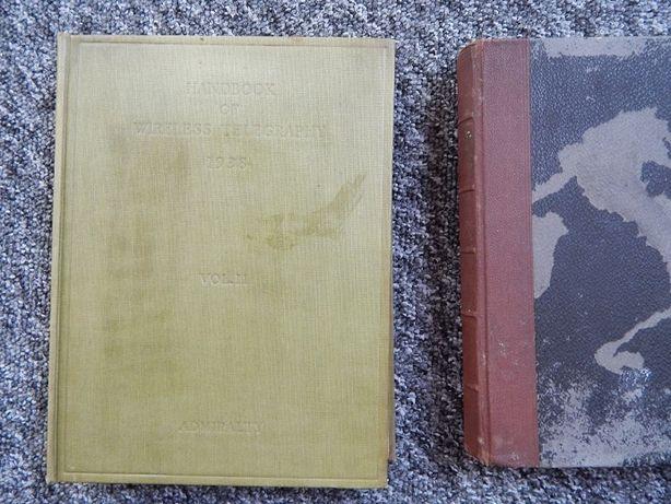 stare książki handbook of wireless telegraphy-1938-vol.II, philosophie