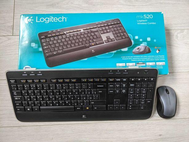Клавиатура, мышь (беспроводной комплект) Logitech Wireless Combo MK520