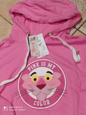 Nowa bluza Sinsay Różowa pantera,r.M.