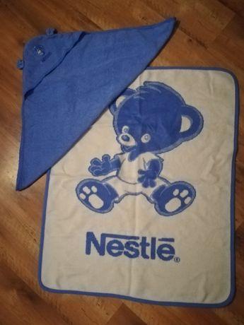 Zestaw NESTLE (ręcznik+kocyk)