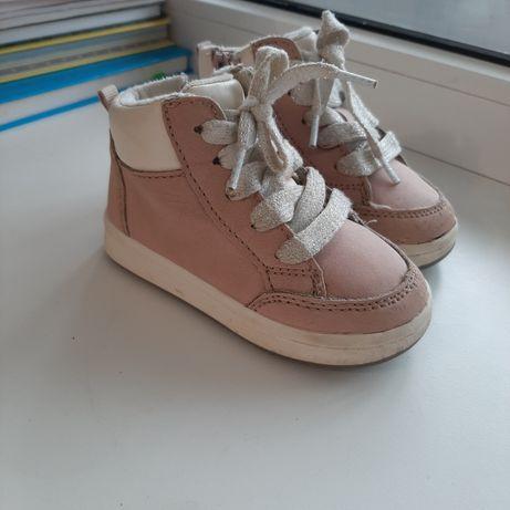 Теплые осенние ботинки хайтопы hm на девочку