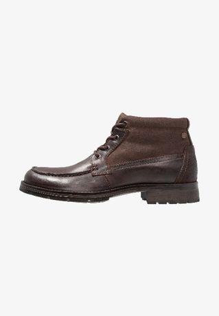 Brązowe buty Jack & Jones Men's Jfwforest Mid Brown roz 44