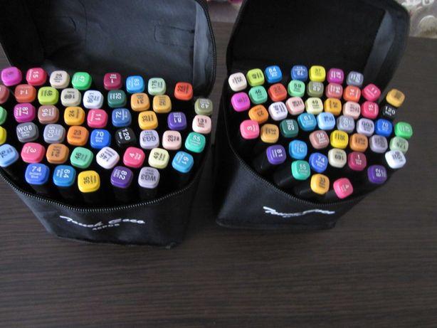 Скетч маркери двухсторонні набори 36 і 48 кольорів- суперціна по 5грн