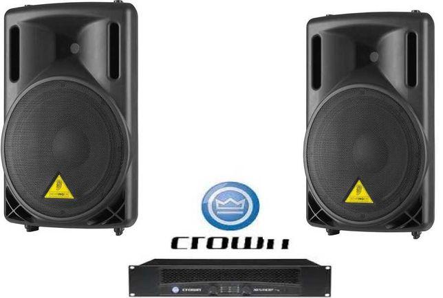 SOM DJ 1200Watts - Sistema completo