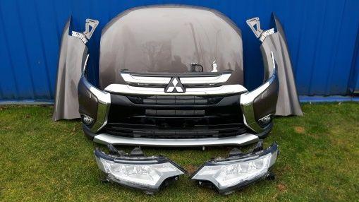 mitsubishi ASX outlander фара бампер капот крыло дверь акпп двигатель