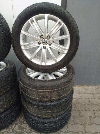 Шини диски,колеса взборі Dunlop 5x112 235/50R18 ET43 RLine Tiguan