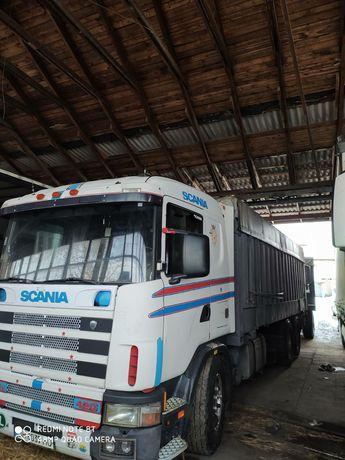 Scania 124 контейнеровоз