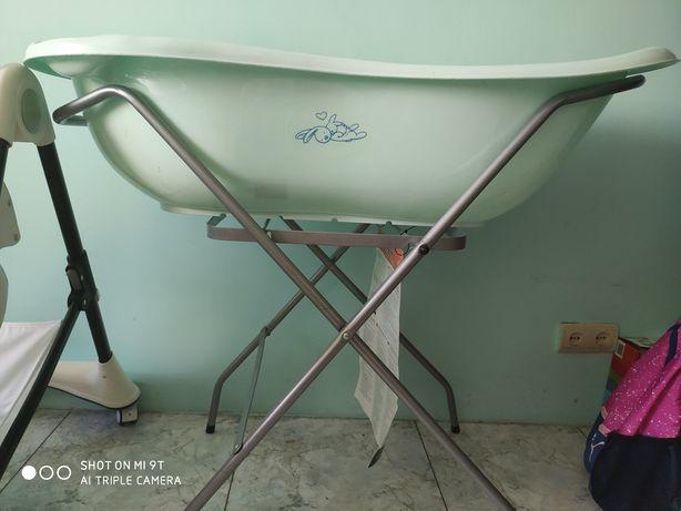 Подставка под ванночку + ванночка