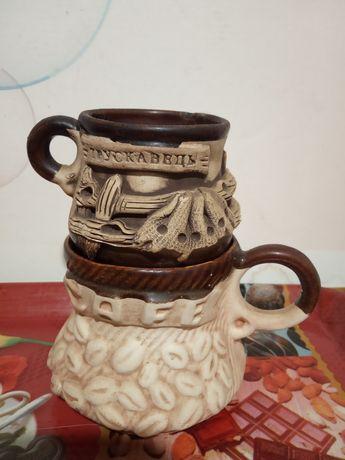 Чашка кофейная, с надписью Трускавец.