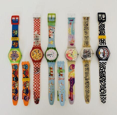 Conjunto de 6 Swatch