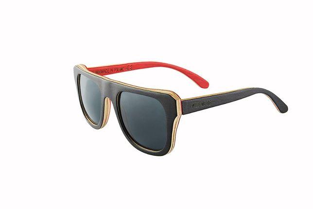 Drewniane okulary przeciwsłoneczne męskie WILD WOOD WARSAW