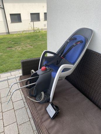 Fotelik rowerowy Hamax caress komplet + adapter+wysylka na moj koszt