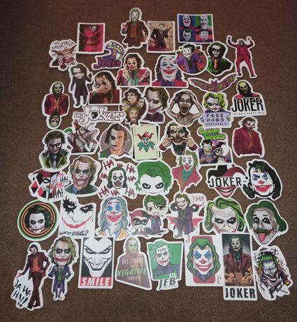 Naklejki Joker vlepki vlepy wlepy wlepki