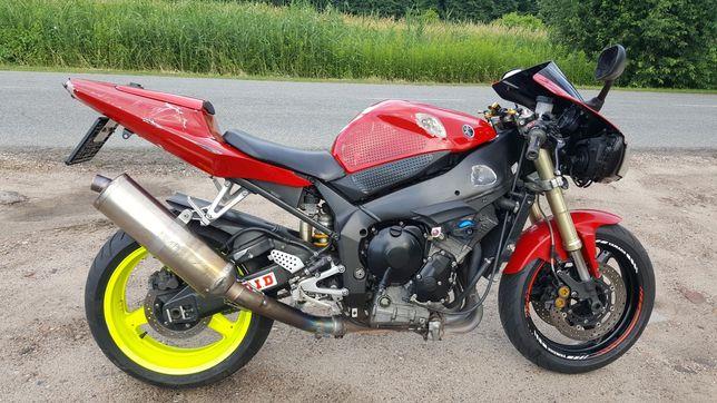 Yamaha r1 rn09 2002r na chodzie ,uszkodzony