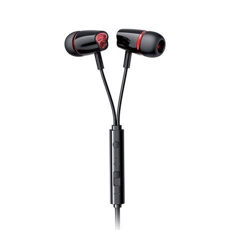 Fones Joyroom In-Ear 3.5Mm Mini Jack Remote And Microphone Preto (Jr-El114)