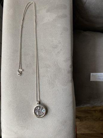 Pandora Medalion duży + 7 petitek