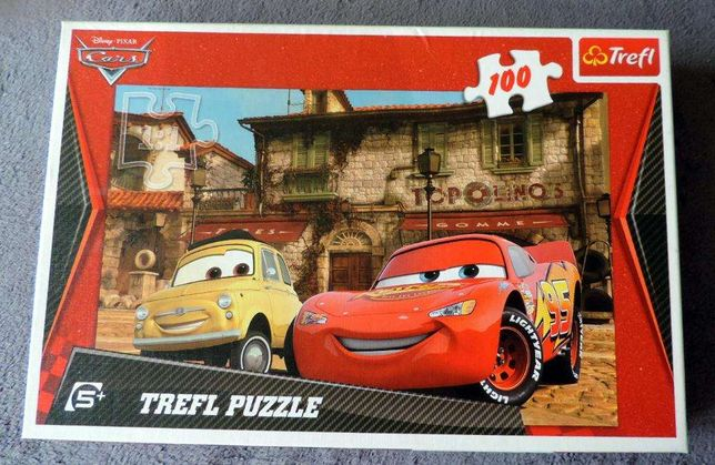 Puzzle cars zyg zak zygzak trefl Auta 2