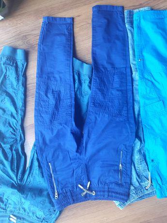 Spodnie 128 zestaw