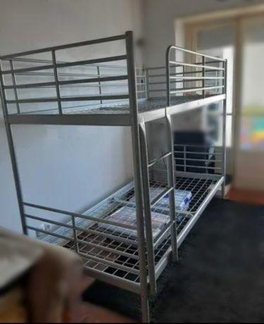 Beliche ferro (duas camas) - Ikea - (ler descrição)
