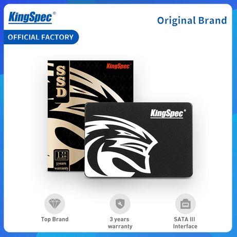 KingSpec SSD Kingston 128gb 180 ССД НОВЫЙ жесткий диск Sata HDD