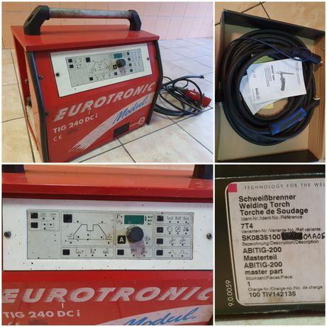 Tig 240A DC Eurotronic+ Abicor Binzel 6metrów