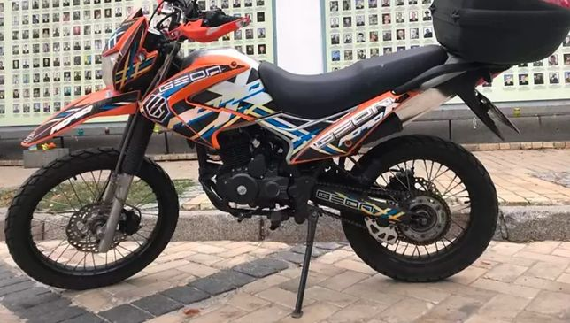 Мотоцикл Geon Terra X 250 Road