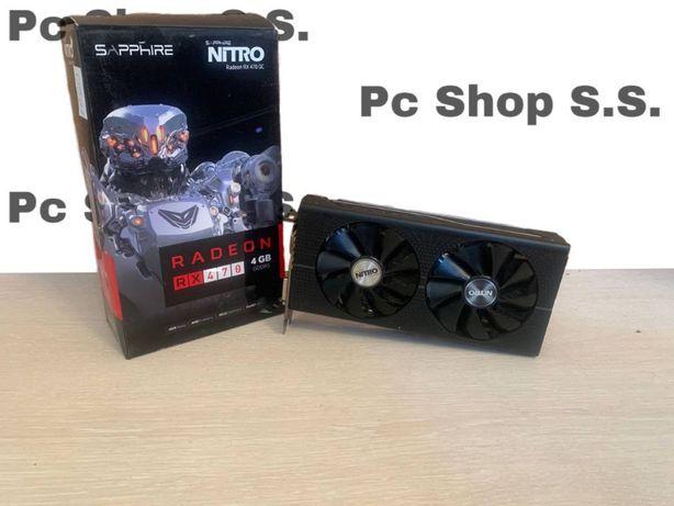 Видеокарта Sapphire Nitro RX 470 4Gb