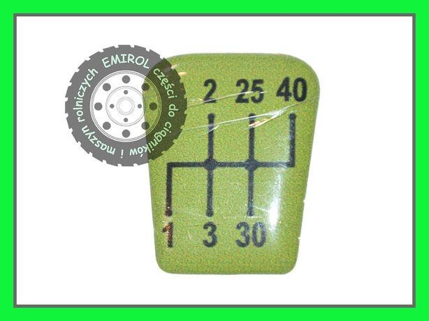 Emblemat naklejka schemat zmiany biegów Fendt Farmer 308,309,311,312LS