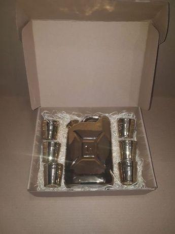 Канистра бутылка в подарочном ящике, крутой подарок мужчине, парню