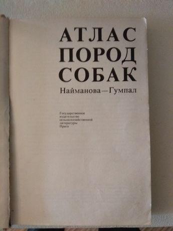 Атлас пород собак Чехия 1983, 320 стр, любителю или специалисту