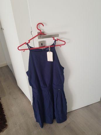 Vestido novo, salsa, azul
