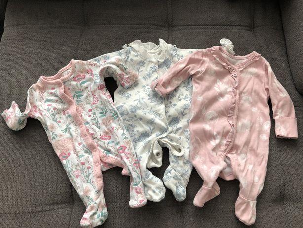 Śpioszki , pajace, body newborn do 56 cm
