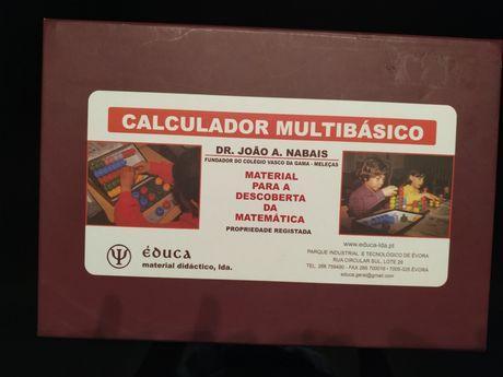 Calculador Multibásico - Matemática